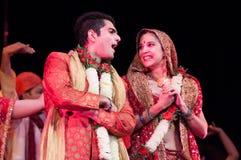 Bollywood kommt nach Barcelona mit dem musikalischen ` ` Bollywood Love Story an Lizenzfreies Stockfoto