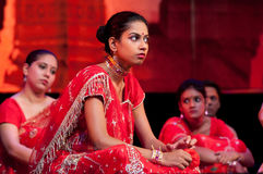 Bollywood komt aan Barcelona met muzikale Bollywood Love Story aan Royalty-vrije Stock Afbeelding