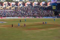 Bollywood krykiet 11 Zdjęcia Stock