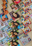 Bollywood Magazines Display. Bollywood magazines on display in Malaysia Royalty Free Stock Photo