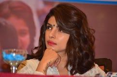 Bollywood och hollywood aktrispriyanka chopra arkivfoton