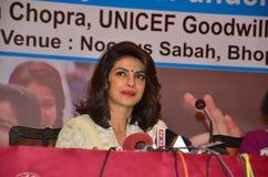 Bollywood och hollywood aktrispriyanka chopra arkivbild