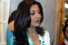 Bollywood star Shilpa Shetty Royalty Free Stock Image