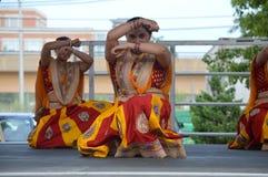 Bollywood tana występ przy lato jarmarkiem 2016 Obrazy Stock