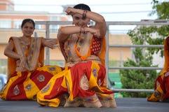 Bollywood taniec przy Chinatown lata jarmarkiem 2016 Zdjęcia Royalty Free