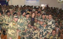 Bollywoodactrice Kangna Ranaut Royalty-vrije Stock Foto's