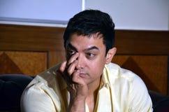 Bollywoodster Aamir Khan royalty-vrije stock foto's