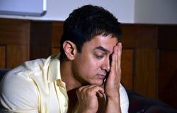 Bollywoodster Aamir Khan stock foto