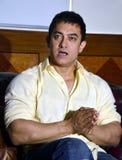 Bollywoodster Aamir Khan stock foto's