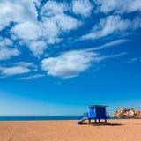 Bolnuevo beach in Mazarron Murcia at Spain Stock Images
