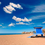 Bolnuevo beach in Mazarron Murcia at Spain Royalty Free Stock Images