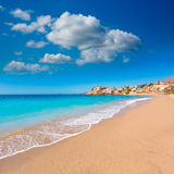Bolnuevo beach in Mazarron Murcia at Spain Stock Photos