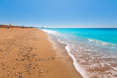 Bolnuevo beach in Mazarron Murcia at Spain Royalty Free Stock Photo
