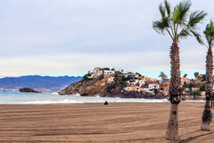 Bolnuevo beach, Mazarron, Spain. Stock Photography