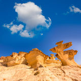 Bolnuevo Mazarron eroded sandstones Murcia Stock Photography