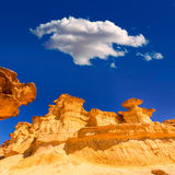 Bolnuevo Mazarron eroded sandstones Murcia Royalty Free Stock Image