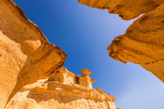 Bolnuevo Mazarron eroded sandstones Murcia Stock Images