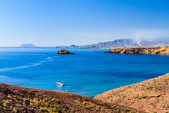 Bolnuevo, Mazarron, Murcia, Spain. Royalty Free Stock Photo