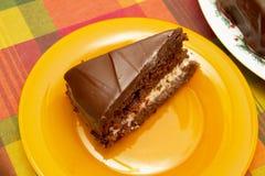 Bolo com chocolate Fotografia de Stock