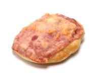 Bolo cozido com bacon e queijo Imagem de Stock Royalty Free