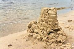 Bolo da areia molhada Imagens de Stock Royalty Free