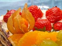 Bolo da fruta Imagem de Stock Royalty Free