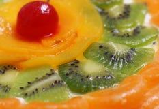 Bolo da fruta Imagem de Stock