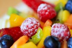 Bolo da fruta Foto de Stock