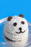 Bolo da panda Fotografia de Stock