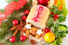 bolo da Papoila-semente Foto de Stock