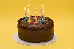 Bolo de aniversário Imagens de Stock