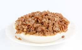 Bolo de arroz da bacia Imagem de Stock