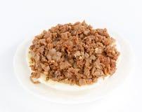 Bolo de arroz da bacia Fotos de Stock