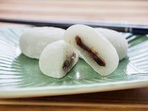 Bolo de arroz glutinoso do alimento tradicional asiático Foto de Stock Royalty Free