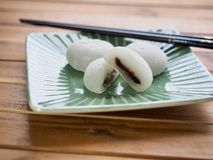 Bolo de arroz glutinoso do alimento tradicional asiático Foto de Stock