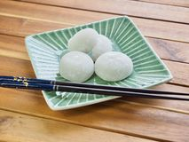 Bolo de arroz glutinoso do alimento tradicional asiático Imagens de Stock Royalty Free