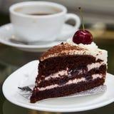 Bolo de café imagem de stock royalty free