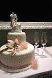Bolo de casamento Imagem de Stock Royalty Free