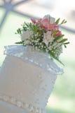 Bolo de casamento Foto de Stock