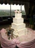Bolo de casamento Imagens de Stock Royalty Free