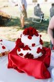 Bolo de casamento Fotos de Stock