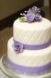 Bolo de casamento Foto de Stock Royalty Free