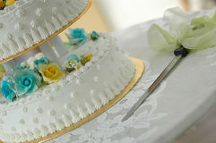 Bolo de casamento II Imagem de Stock