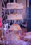 Bolo de casamento luxuoso Foto de Stock Royalty Free