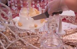 Bolo de casamento luxuoso Foto de Stock