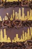 Bolo de Chicago Foto de Stock Royalty Free