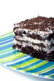 Bolo de chocolate 2 Fotografia de Stock Royalty Free