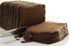 Bolo de chocolate, Imagem de Stock Royalty Free