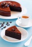 Bolo de chocolate Imagens de Stock Royalty Free