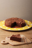 Bolo de chocolate Imagens de Stock